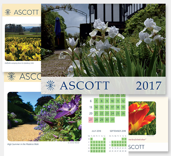 Ascott Estate calendar and photography