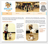 Barking Mad Dog Training website