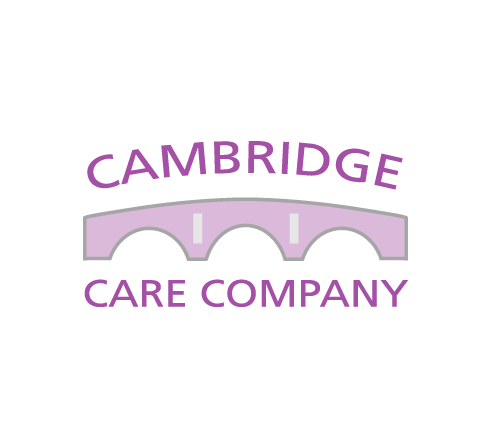 Cambridge Care Company logo, stationery and website