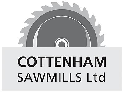 Cottenham Sawmills logo and links to further designs created by Blue Violet
