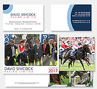 David Simcock stationery design