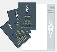 Norris Bloodstock stationery design