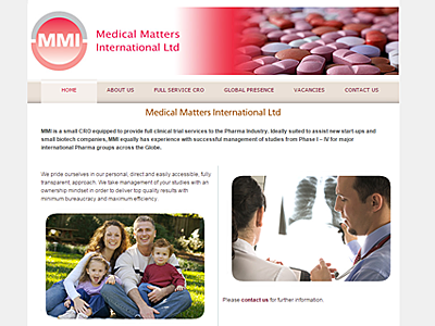 MMI Ltd website and links to further websites created by Blue Violet