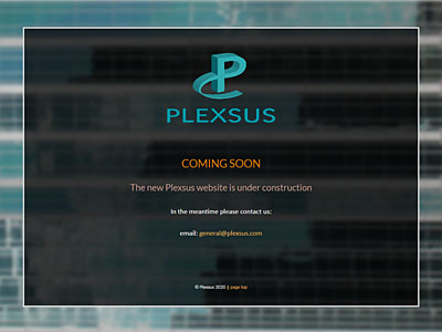 Plexsus Consulting website and links to further websites created by Blue Violet