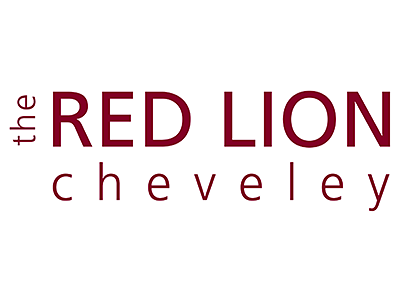Red Lion, Cheveley logo and links to further designs created by Blue Violet