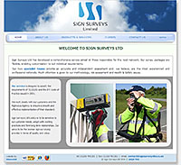 Sign Surveys Ltd website